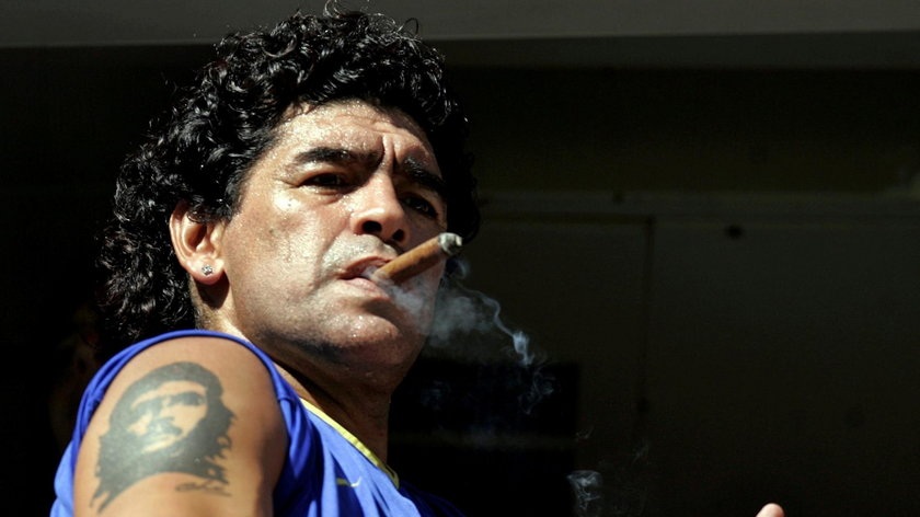 Diego Maradona (†60 l.) przez całe życie zarobił dziesiątki milionów dolarów.