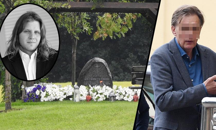 Zapadł wyrok ws. grobu Piotra Woźniaka-Staraka. Wuj został ukarany