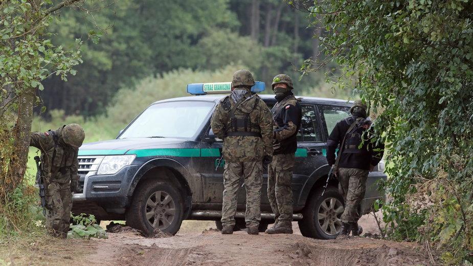 Straż Graniczna na polsko-białoruskiej granicy
