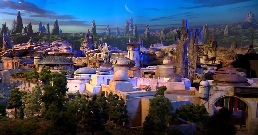 """Star Wars Land - taki będzie park rozrywki z """"Gwiezdnych Wojen"""""""