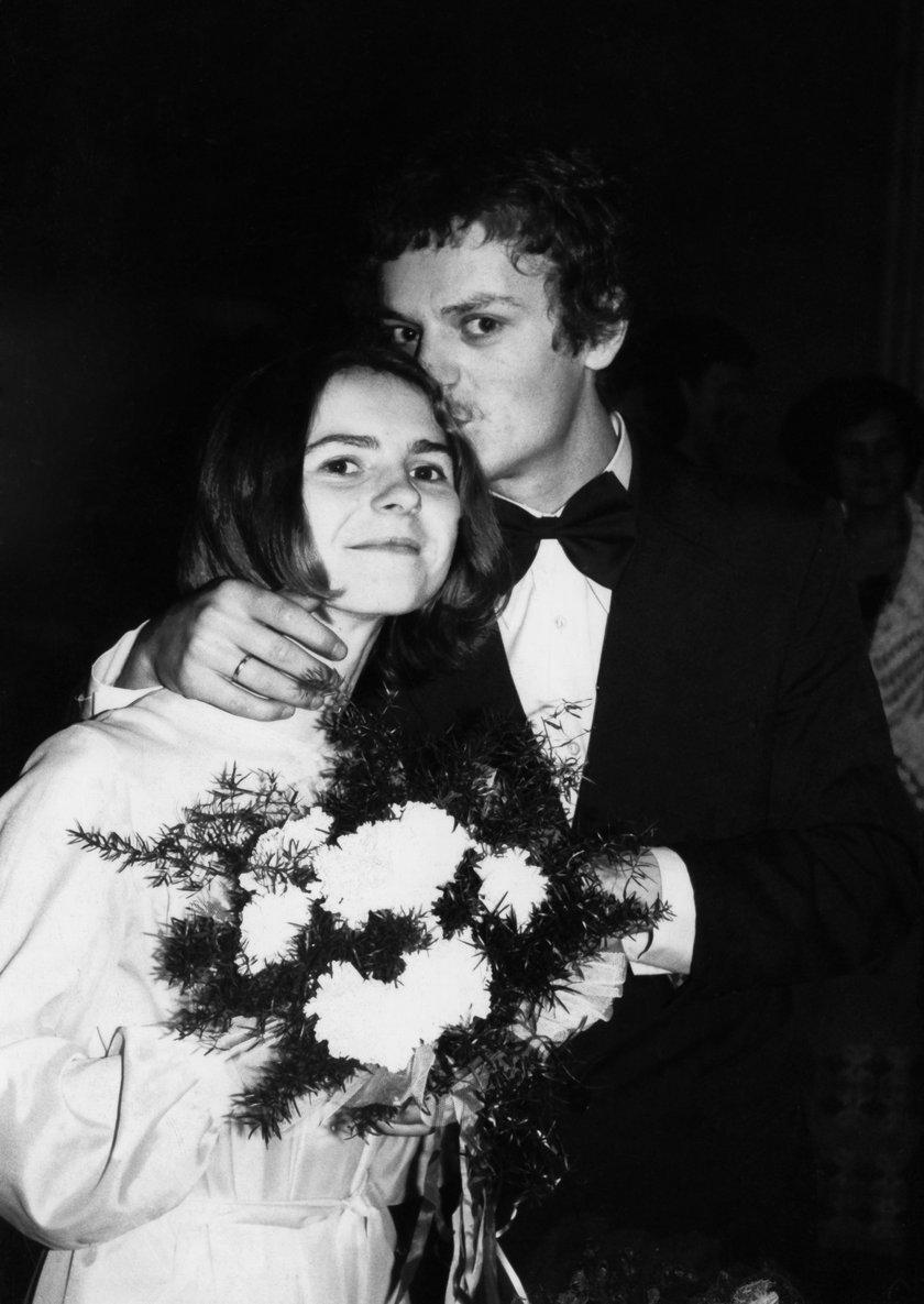 Donald i Małgorzata Tuskowie w 1978 roku
