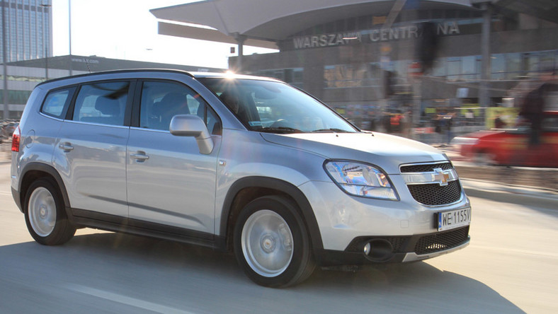 Zaawansowane Orlando 1.8 LTZ: oto supertani Chevrolet XL41