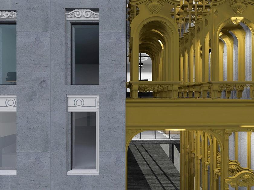 Architekci zaprojektowali w konkursie współczesną łódzką kamienicę