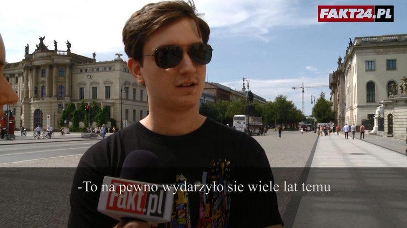 Sonda Fakt24 w Berlinie. Pytamy ludzi, co wiedzą o Powstaniu Warszawskim