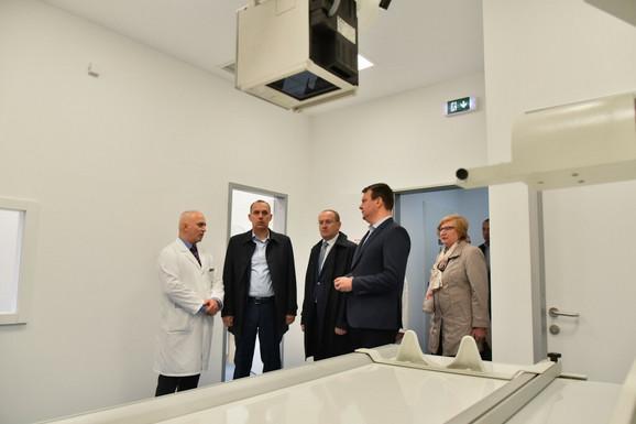Ministar Lončar najavio je novu opremu i specijalizacije: U novom Domu zdravlja u Kuli