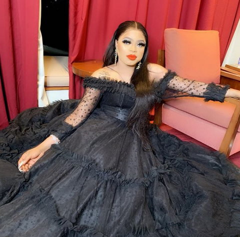 Bobrisky is unhappy that over N19million spent on making her 28th birthday party grand went down the drain. [Instagram/Bobrisky222]