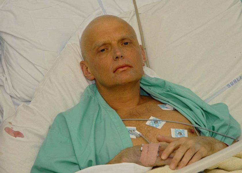 Aleksander Litwinienko, były agent KGB, został otruty polonem