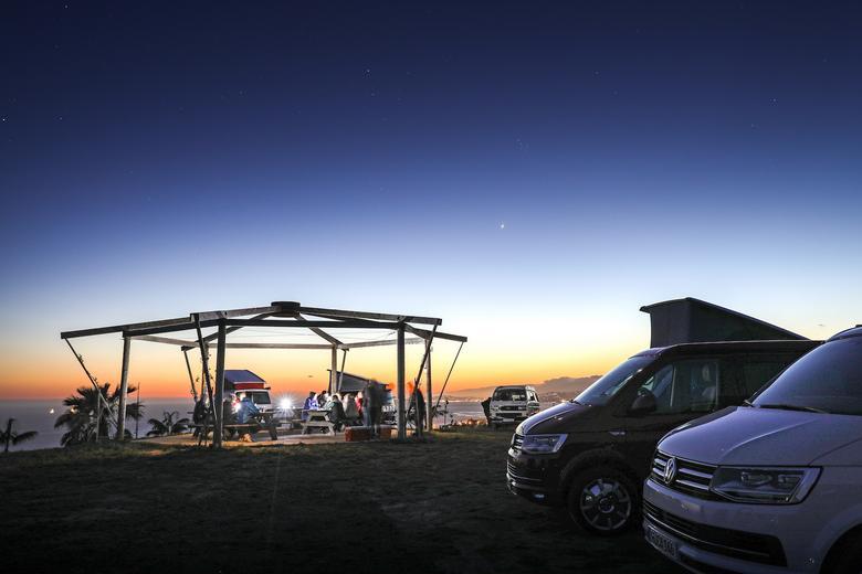 Volkswagenem California po Kalifornii