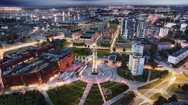 DOKI Living to inwestycja realizowana przez Euro Styl na postoczniowych terenach w Gdansku