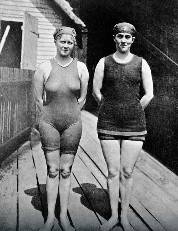 Australijskie pływaczki olimpijskie, rok 1912