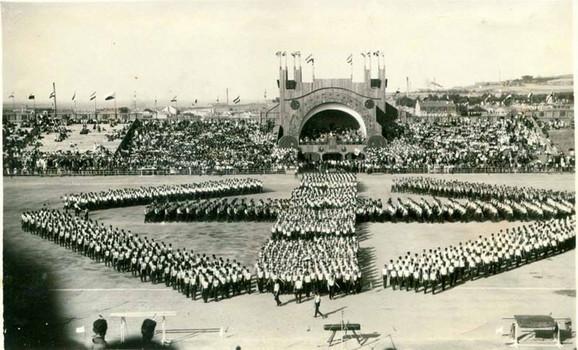 Drveni stadion bio je najveća konstrukcija u centralnoj Evropi