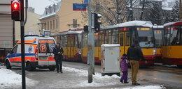Zemdlona zatrzymała tramwaje