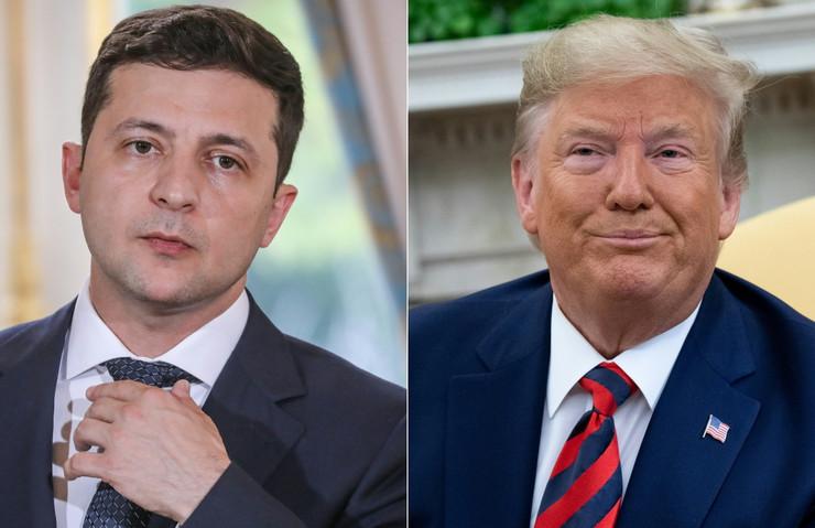 Volodimir Zelenski i Donald Tramp