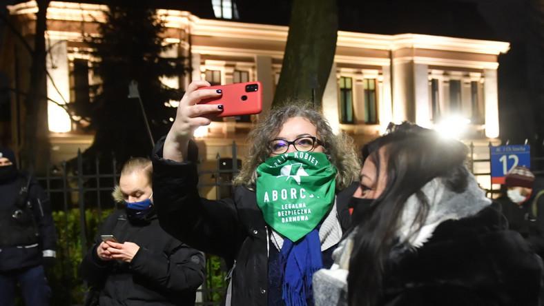 Liderka Strajku Kobiet Marta Lempart