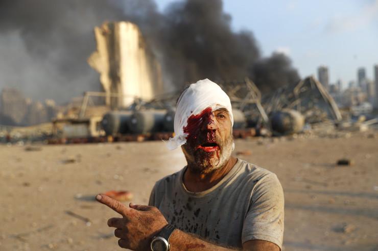Bejrut, eksplozija