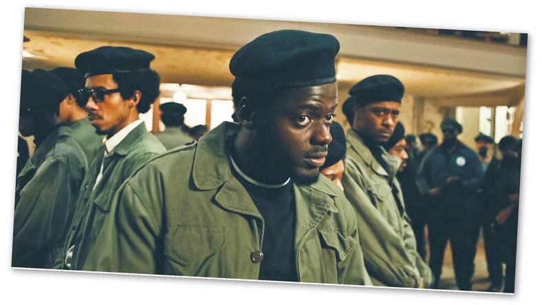 """Dumny Fred Hampton, lider Czarnych Panter w Illinois, """"Judasz i czarny mesjasz"""""""
