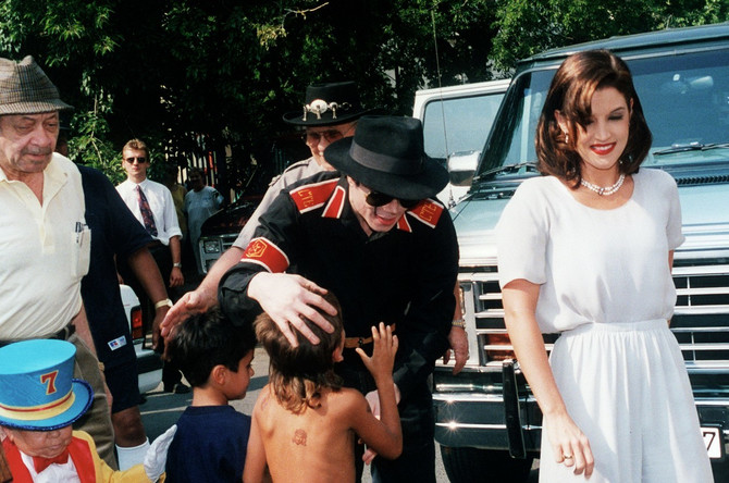 Lisa Mari Presli i Majkl Džekson