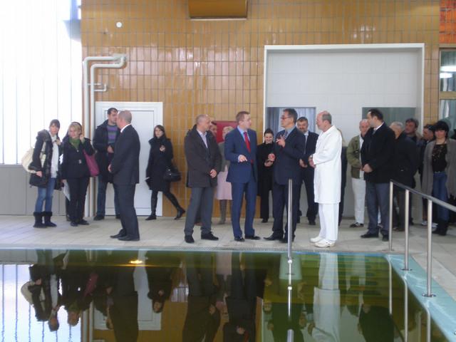 Otvaranju renoviranog bazena prisustvovao i predsednik Vlade Vojvodine Bojan Pajtić