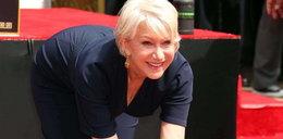 Helen Mirren wpadła w beton