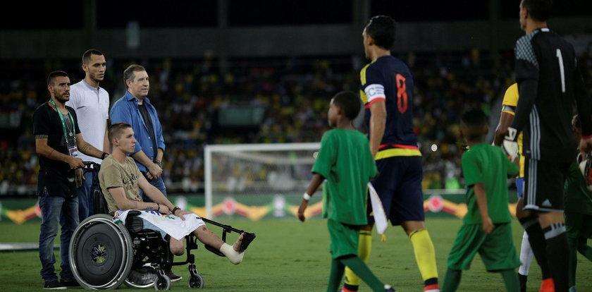 Stracił nogę w katastrofie, ale chce wrócić do gry