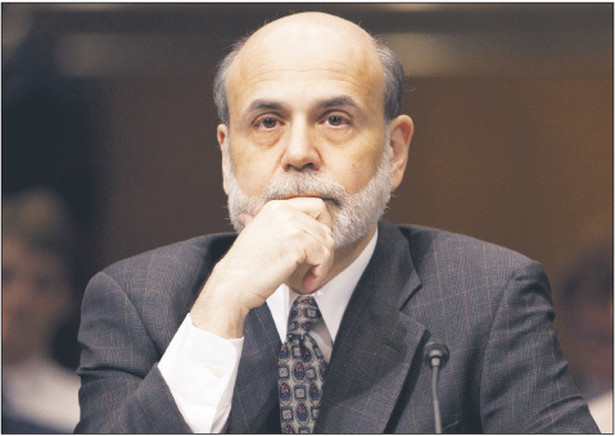 Szef Fed Ben Bernanke Fot. Bloomberg