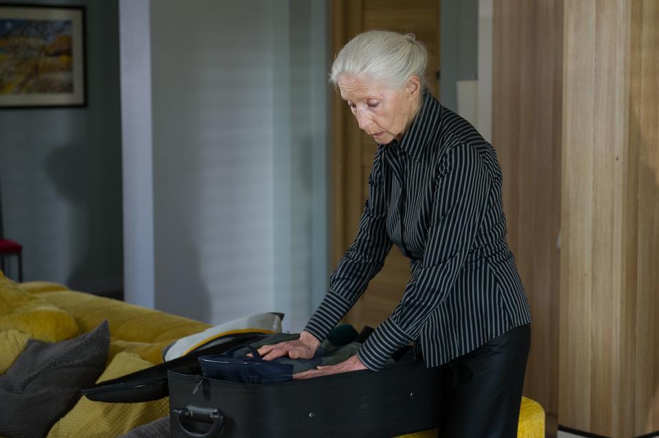 """Helena Norowicz w serialu """"Na Wspólnej"""" (2017)"""