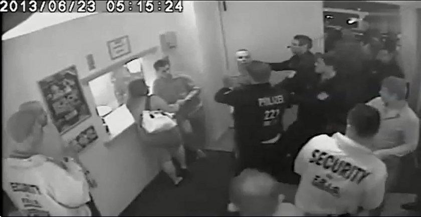 Policja otoczyła Polaka