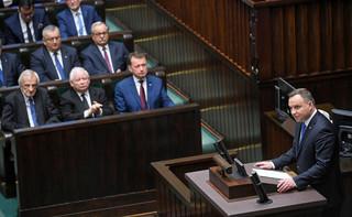 Orędzie prezydenta na inauguracji IX kadencji Sejmu: 'Dla mnie Polakiem jest każdy, kto ma Polskę w sercu'