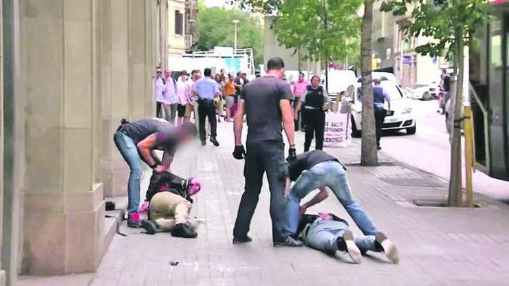 Hapšenje Pink Pantera u Barseloni - Ilustracija