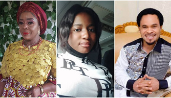 Nollywood actress Rita Edochie, Ada Jesus and Prophet Odumeje [Instagram/RitaEdochie] [Instagram/AdeJesusComedy] [360Dopes]