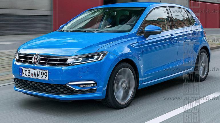 Volkswagen Polo VI - wizualizacja