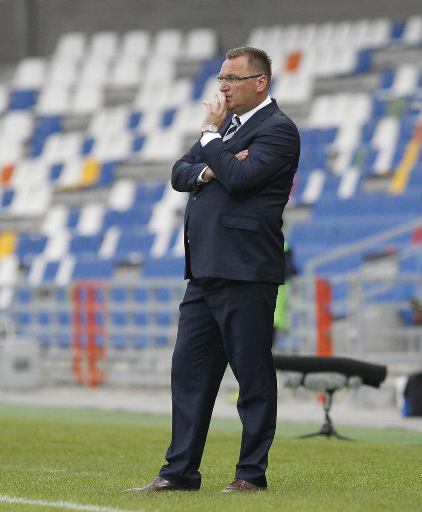 Polski trener boi się zawału. Uciekł do szatni przed końcem meczu