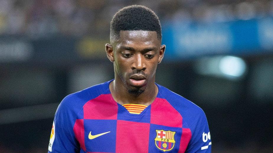 Ousmane Dembélé (fot. Getty Images)