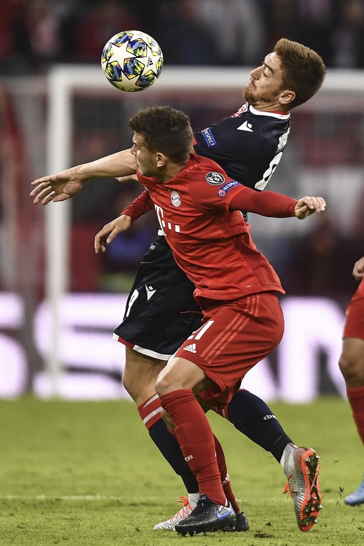 FK Crvena zvezda, FK Bajern Minhen