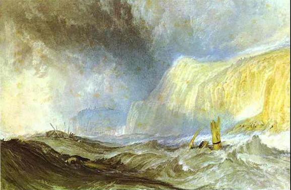 Olupina broda kod Hejstingsa, oko 1825.