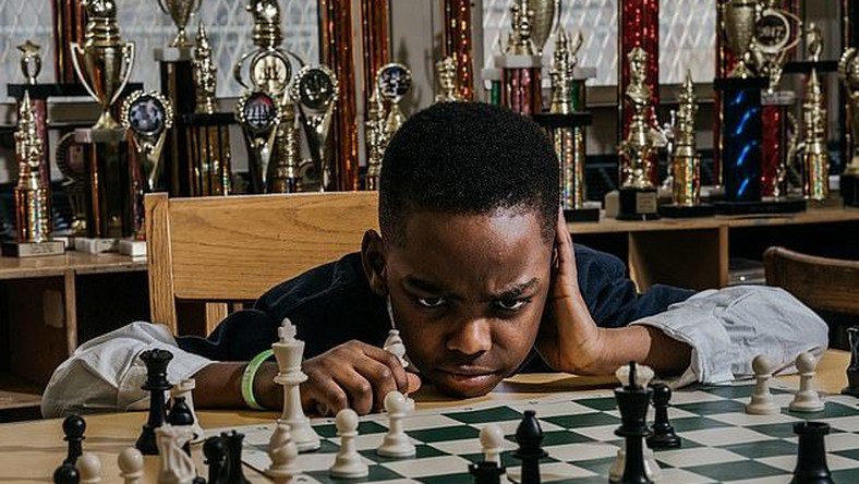 8-year-old Nigerian wins chess championship in New York (dailymail)