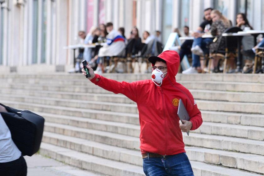 Kuba Wojewódzki zaatakował fotoreportera gazem