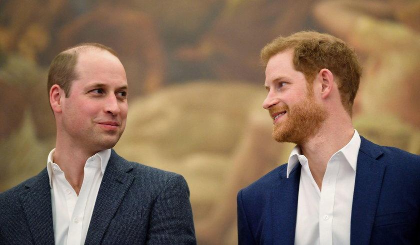 William i Harry wydali wspólne oświadczenie