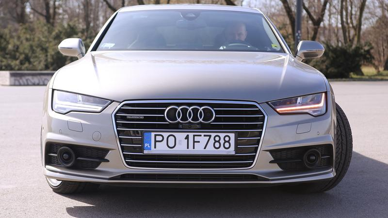 Reflektory Matrix LED w Audi A7