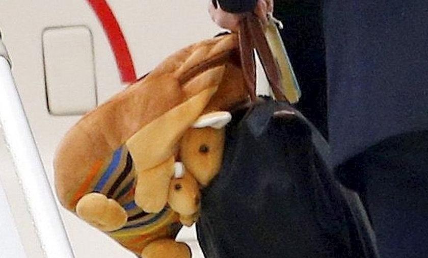 Książę Jerzy dostał plecak z kangurami