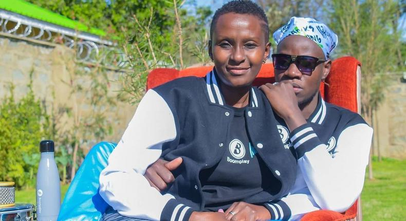 Guardian Angel with his Wife Esther Musila