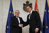 Žan Klod Junker Aleksandar Vučić