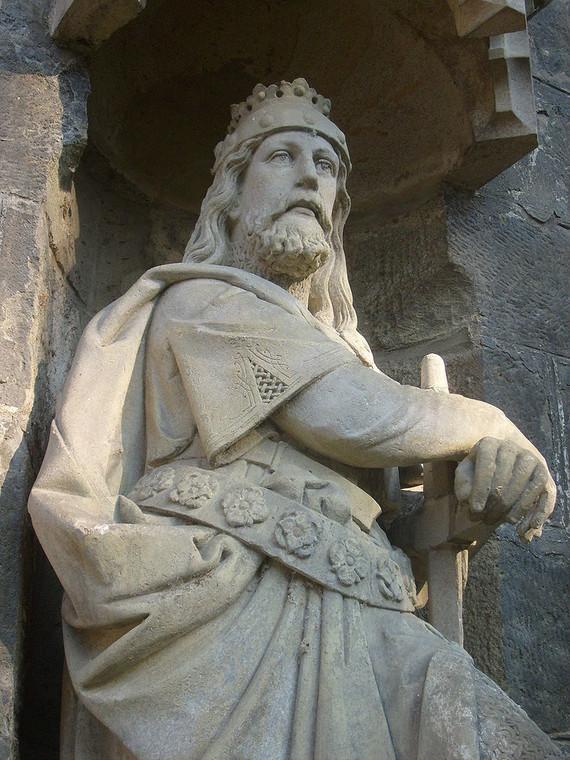 Pomnik Brzetysława I w czeskim Chrudimiu