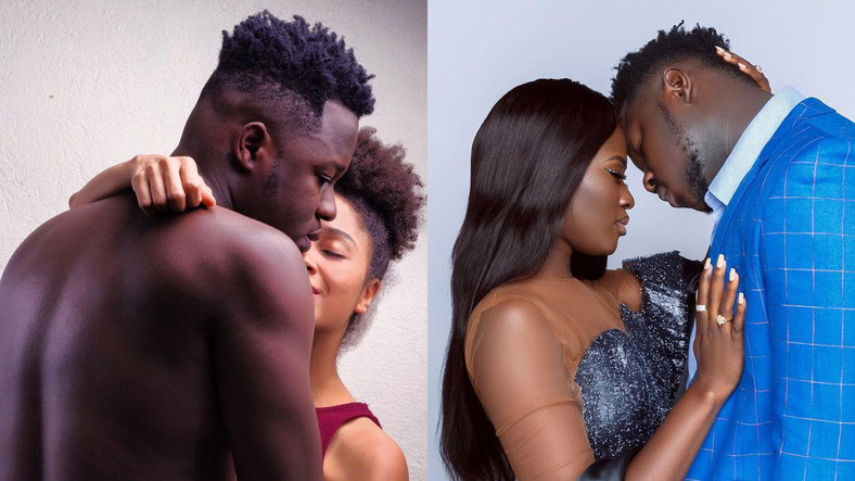 Medikal, Sister Derby and Fella Makafui