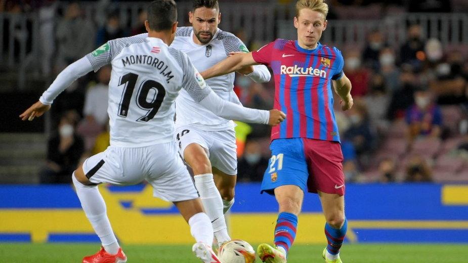 Mecz FC Barcelony z Granadą, 20.09.2021 r.