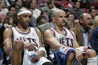 Vince Carter i Jason Kidd w New Jersey Nets
