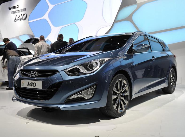 W Genewie Hyundai odsłonił i40 - całkowicie nowy i pierwszy model koreańskiej marki w segmencie D