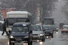 sneg smederevo otezan i usporen saobracaj u centru grada_110119_foto Nenad Pavlovic 001