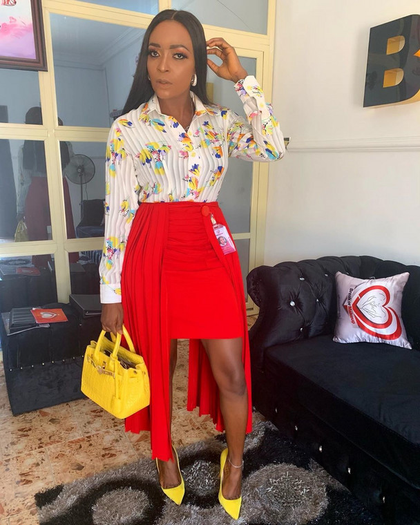 It also states that Blessing Okoro should also publish her apology on all the blogs she had earlier shared all the negative posts about her. Blessing Okoro had taken to her Instagram page a few days ago to call out the reality TV star. [Instagram/OfficialBlessingOkoro]
