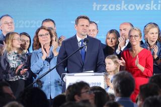 Trzaskowski: Mamy szanse wygrać wybory; z takimi wynikami można iść się bić o Polskę